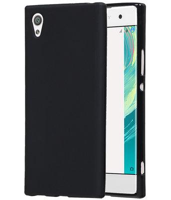 Hoesje voor Sony Xperia XZ Premium TPU back case Zwart