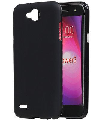 Hoesje voor LG X Power 2 TPU back case Zwart