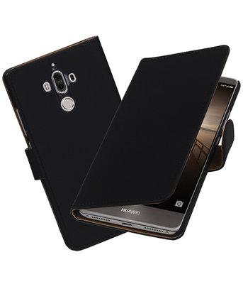 Hoesje voor Huawei Mate 9 Effen booktype Zwart