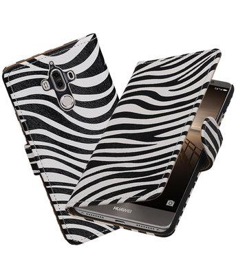 Hoesje voor Huawei Mate 9 Zebra booktype