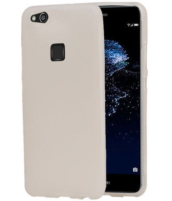 Hoesje voor Huawei P10 Lite TPU back case transparant Wit