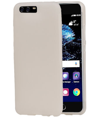 Hoesje voor Huawei P10 Plus TPU back case transparant Wit