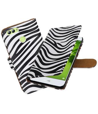 Hoesje voor Huawei nova 2 Zebra booktype