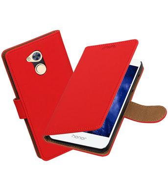 Hoesje voor Huawei Honor 6A Effen booktype Rood