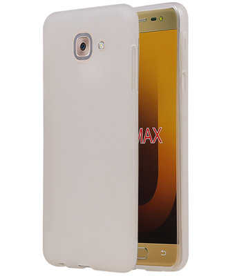 Hoesje voor Samsung Galaxy J7 Max TPU back case Wit