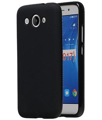Hoesje voor Huawei Y3 2017 TPU back case Zwart