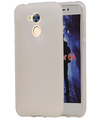 Hoesje voor Huawei Honor 6A TPU back case Wit