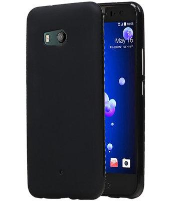 Hoesje voor HTC U11 TPU back case Zwart