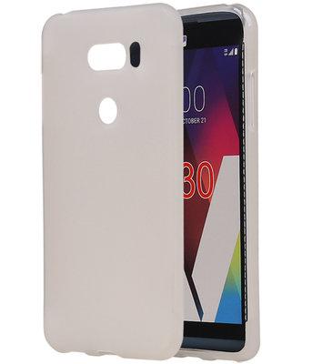 Hoesje voor LG V30 TPU back case Wit