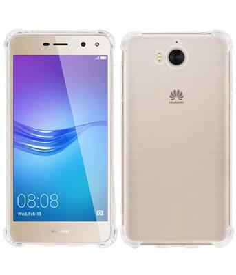 Hoesje voor Huawei Y5 2017 / Y5 III TPU Schokbestendig bumper case