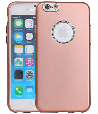 Hoesje voor Apple iPhone 7 / 8 Design TPU back case Roze