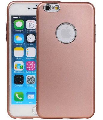 Hoesje voor Apple iPhone 6 Plus / 6s Plus Design TPU back case Roze