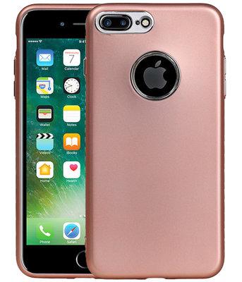 Hoesje voor Apple iPhone 7 Plus / 8 Plus Design TPU back case Roze