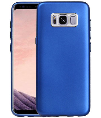Samsung Galaxy S8 Design TPU back case hoesje Blauw