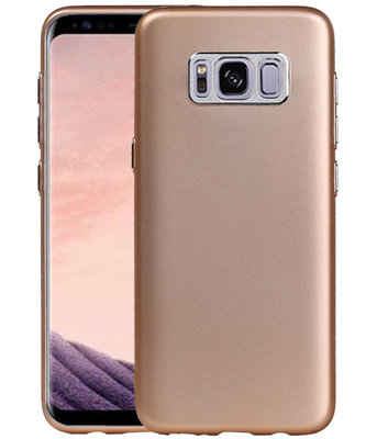 Samsung Galaxy S8 Design TPU back case hoesje Goud