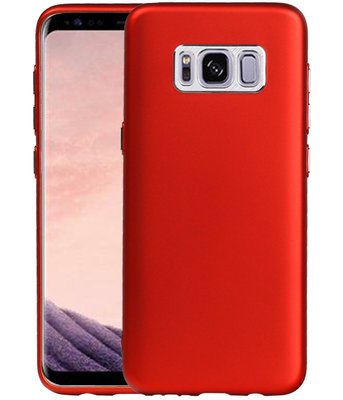 Samsung Galaxy S8 Design TPU back case hoesje Rood