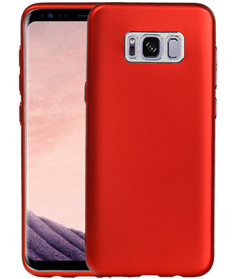 Hoesje voor Samsung Galaxy S8+ Plus Design TPU back case Rood