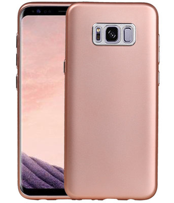 Hoesje voor Samsung Galaxy S8+ Plus Design TPU back case Roze