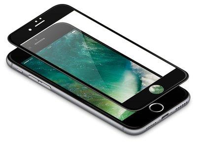 Zwart Apple iPhone 8 Plus Tempered Glass Screen Protector