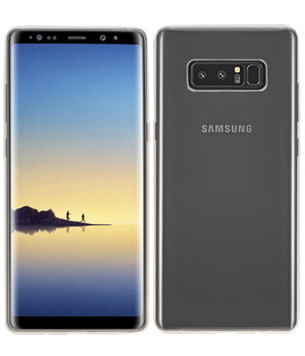 Hoesje voor Samsung Galaxy Note 8 Smartphone Cover Transparant