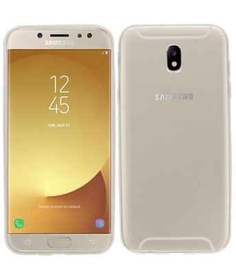 Samsung Galaxy J5 2017 Smartphone Cover Hoesje Transparant