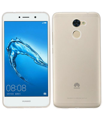 Huawei Y7 Smartphone Cover Hoesje Transparant