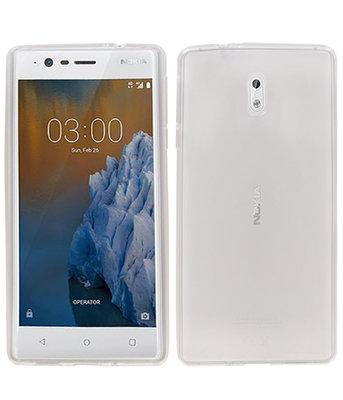 Hoesje voor Nokia 3 Smartphone Cover Transparant
