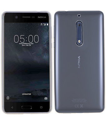 Nokia 5 Smartphone Cover Hoesje Transparant