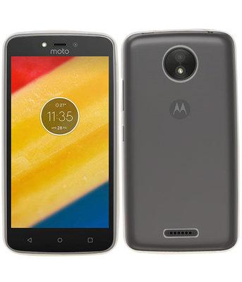Hoesje voor Motorola Moto C Plus Smartphone Cover Transparant