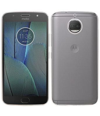 Hoesje voor Motorola Moto G5 Plus Smartphone Cover Transparant