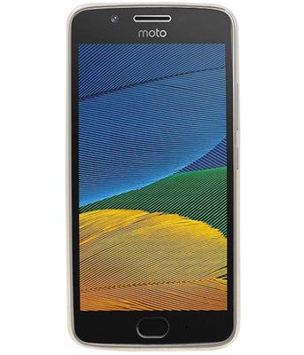 Hoesje voor Motorola Moto G5 Smartphone Cover Transparant