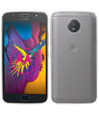 Hoesje voor Motorola Moto G5s Smartphone Cover Transparant