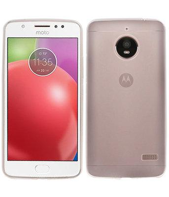 Hoesje voor Motorola Moto E4 Smartphone Cover Transparant