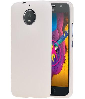 Hoesje voor Motorola Moto G5s Design TPU back case Wit