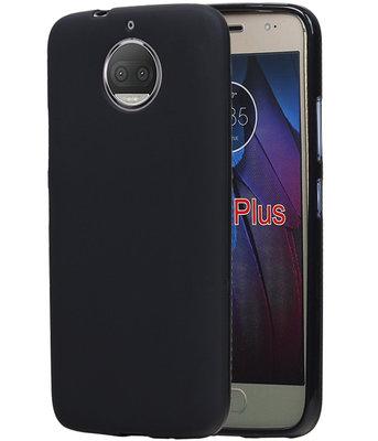 Hoesje voor Motorola Moto G5s Plus Design TPU back case Zwart