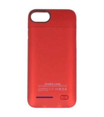 Rood smart batterij hoesje Apple iPhone 6 / 6s en Apple iPhone 7