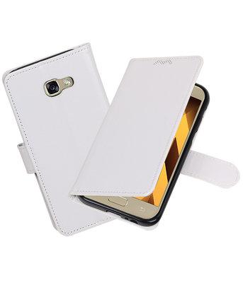 Wit Portemonnee booktype hoesje Samsung Galaxy A5 2017 A520
