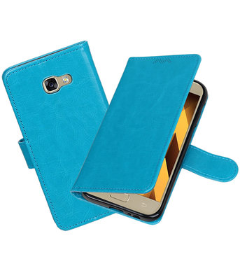 Turquoise Portemonnee booktype hoesje Samsung Galaxy A5 2017 A520