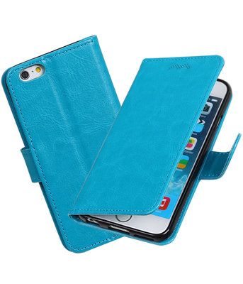 Turquoise Portemonnee booktype hoesje Apple iPhone 6 / 6s