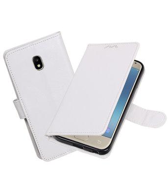 Wit Portemonnee booktype Hoesje voor Samsung Galaxy J3 2017