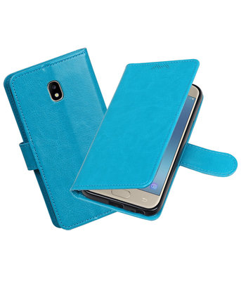 Turquoise Portemonnee booktype hoesje Samsung Galaxy J3 2017