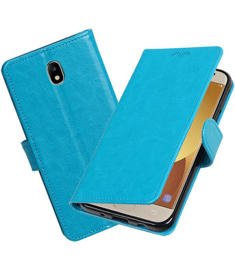 Turquoise Portemonnee booktype hoesje Samsung Galaxy J5 2017