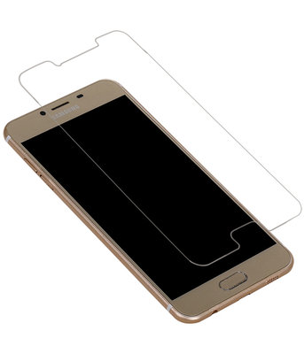 Samsung Galaxy C5 Premium Tempered Glass - Glazen Screen Protector