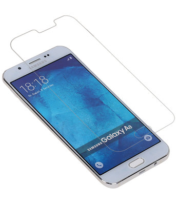 Samsung Galaxy A8 2016 Premium Tempered Glass - Glazen Screen Protector