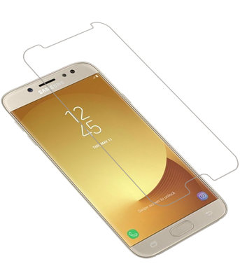 Samsung Galaxy J7 2017 Premium Tempered Glass - Glazen Screen Protector