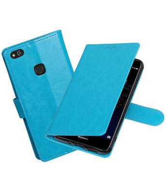 Turquoise Portemonnee booktype Hoesje voor Huawei P10 Lite