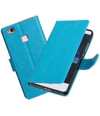 Turquoise Portemonnee booktype Hoesje voor Huawei P9 Lite