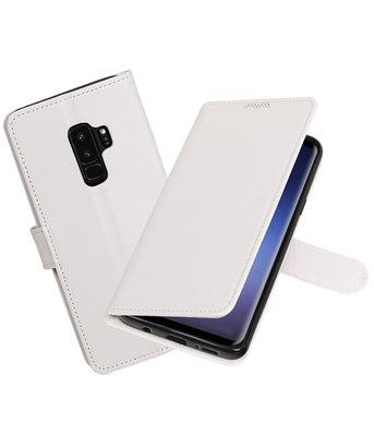Wit Portemonnee booktype Hoesje voor Huawei P9 Lite mini / Y6 Pro 2017