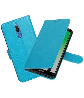 Turquoise Portemonnee booktype Hoesje voor Huawei Mate 10 Lite