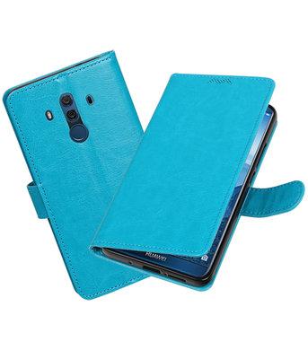 Turquoise Portemonnee booktype Hoesje voor Huawei Mate 10 Pro